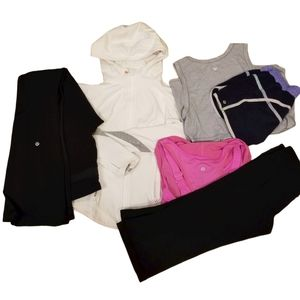 Lululemon Size 6 Clothing Work Out Gear LOT